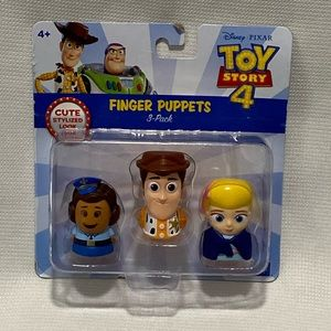 Disney Toy Story 4 Finger Puppets Woody Toy